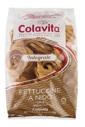 Imagem 1 de 1 de Fetuccine A Nido Integral Colavita Grano Duro 500g