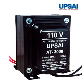 Auto Transformador 3000 Va Upsai 110/220 220/110