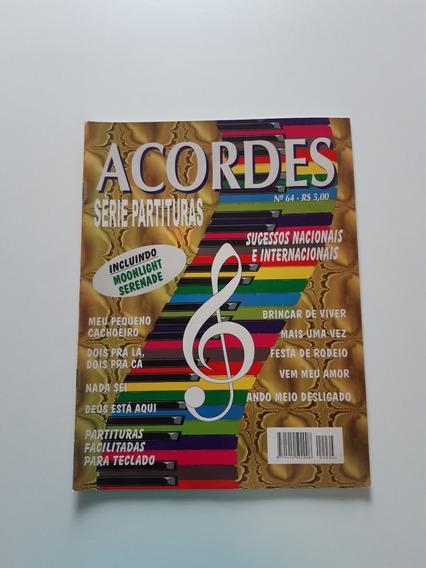 Revista Acordes Série Partituras Sucessos Nacionais Cc510