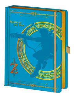 Libreta Zelda Azul