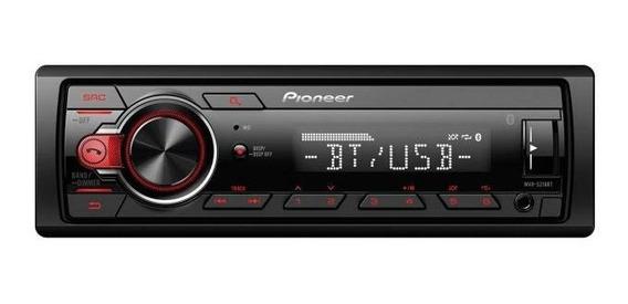 Rádio Mp3 Player Bluetooth Pioneer Mvh-218bt Ligação Spotify