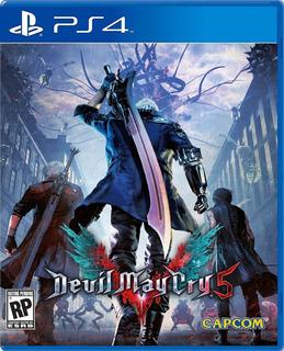 Devil May Cry 5 Ps4 Fisico - Audiojuegos