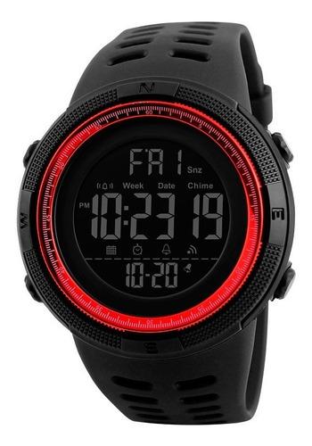 Imagen 1 de 6 de Reloj Hombre Skmei 1251 Crono Alarma Timer Sumergible Molts