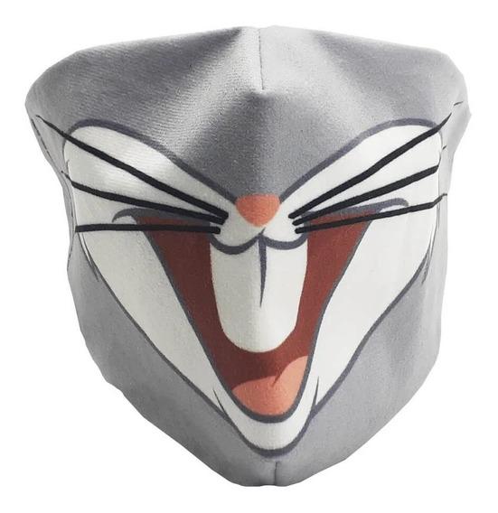 Máscara De Proteção Facial Veludo Pernalonga Zc 10071520