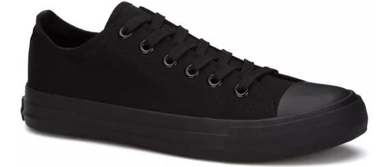 Tenis Sneaker Rock Juvenil Sport Indie Vintage Negro 2559643