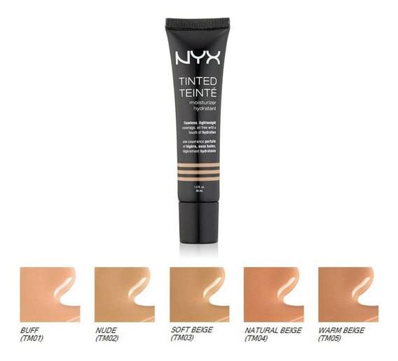Base Nyx Tinted Moisturizer Oil Free Base De Maquillaje Nyx