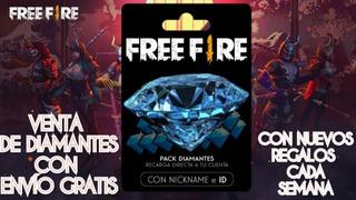 Free Fire Diamantes 100 Más Premios