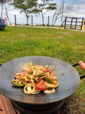 Alimentação Na Praia Tramandai