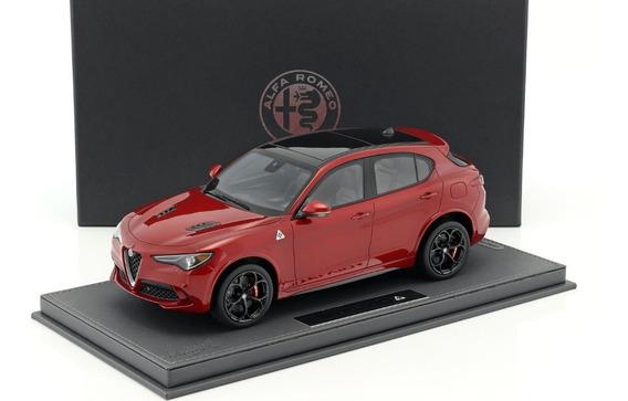 Bbr Models 1/18 Alfa Romeo Stelvio Quadrifoglio 2016