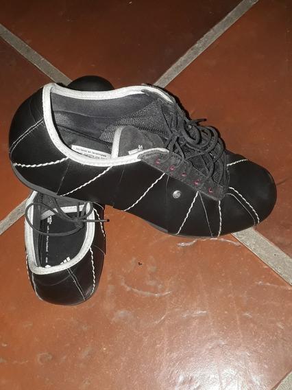 Zapatillas De Cuero adidas Original Dama