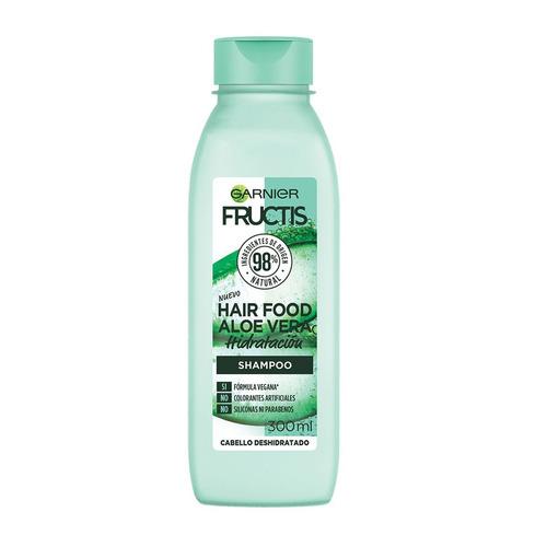 Imagen 1 de 1 de Shampoo  Garnier Fructis Hair Food Aloe Vera tubo depresible 300ml