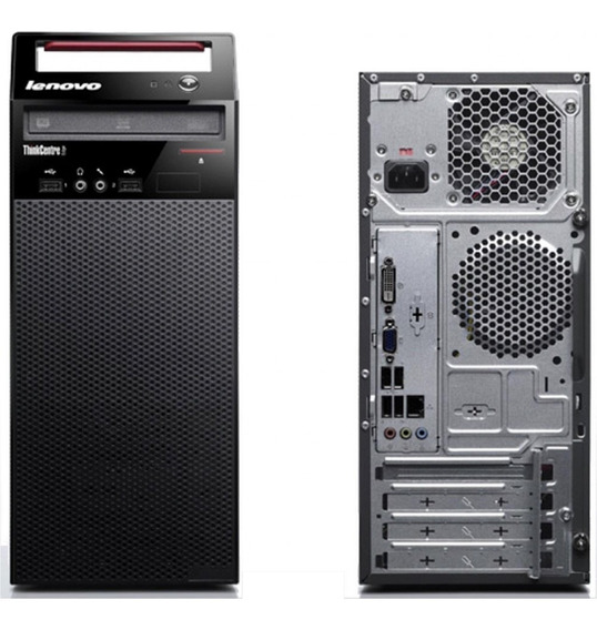 Cpu Desktop Intel Core I5 4° 250 Hd 4 Gb Ram Lenovo E73