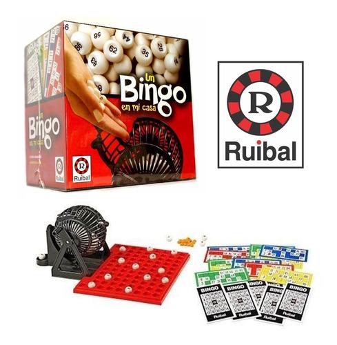 Juego De Mesa Un Bingo En Mi Casa - Ruibal E.full
