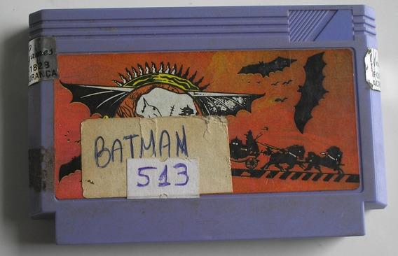 Batman Nes Nintendinho 8 Bits 60 Pinos Paralela Usada Rara
