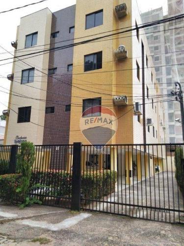 Apartamento Com 2 Dormitórios À Venda, 77 M² - Lagoa Nova - Natal/rn - Ap0098