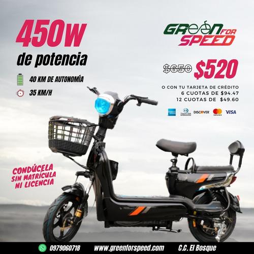 Moto Scooter Eléctrica 350w Y 450w