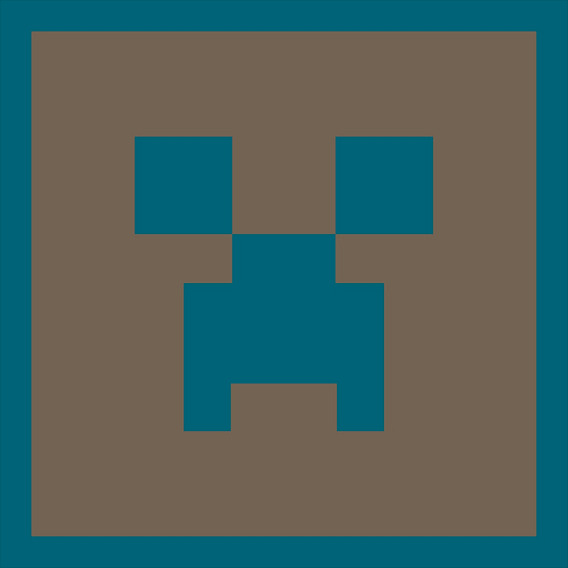 Placa Parede Decorativa Creeper Face Legião Nerd - Rcr Games