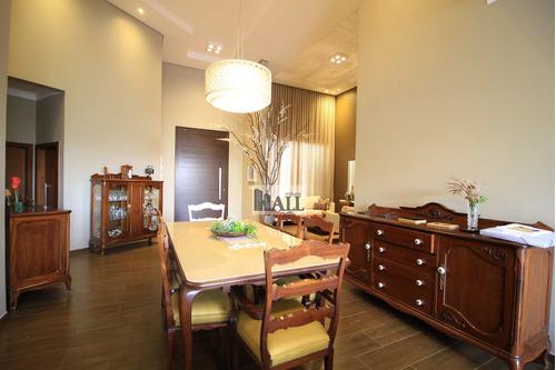 Imagem 1 de 30 de Casa De Condomínio Golden Park Com 3 Quartos, 325 M², 6 Vagas, - V7073