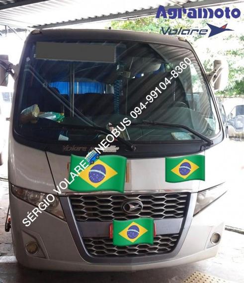 Micro Ônibus Volare W7 Mo Executivo Cor Prata Ano 2014/2014
