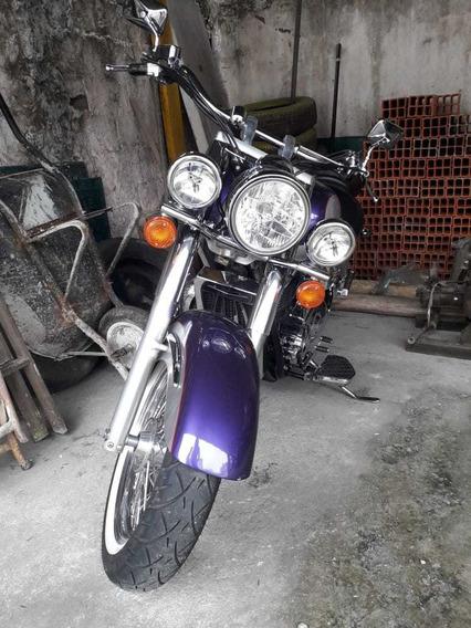 Honda Shadow 1100 Roxa