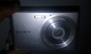 Camara Digital Sony Ciber Shot 12.1 Mp X4 Optical Zoom Carga