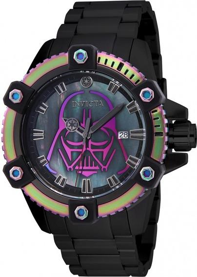 Unico Reloj Invicta Darth Vader Automatico Star Wars Tornaso