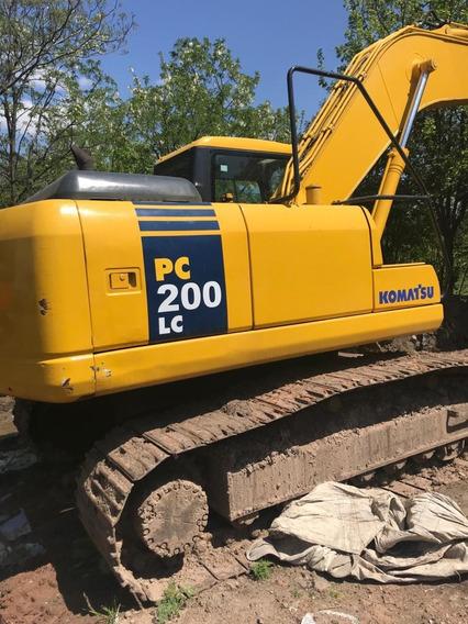 Excavadora Komatsu Pc 200 Retro