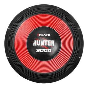 Alto Falante 7driver Hunter 3000 15 Pol. 4 Ohms 1500w Rms