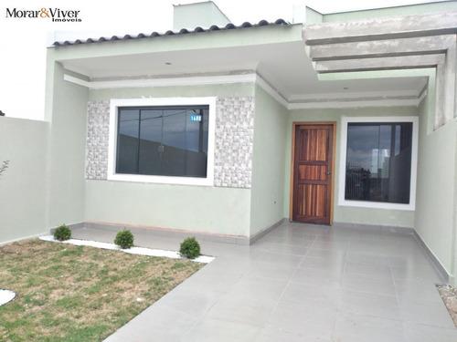 Casa Para Venda Em Fazenda Rio Grande, Nações, 3 Dormitórios, 1 Banheiro, 1 Vaga - Faz5558_1-1677484