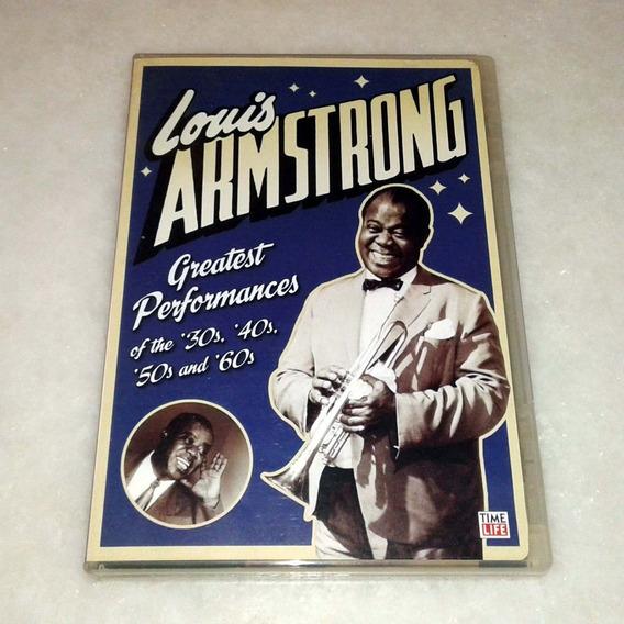 Dvd Louis Armstrong Greatest Performances Usado Original Usa