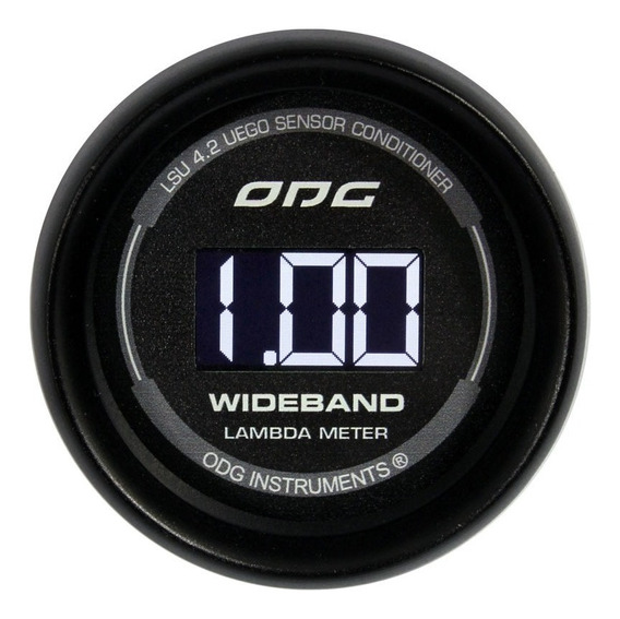 Wideband Odg 52mm Para Injeção Programável E Datalogger