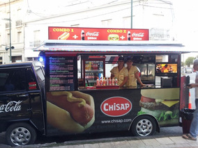 Food Truck Montado Sobre Rastrojero Frontalito Impecable