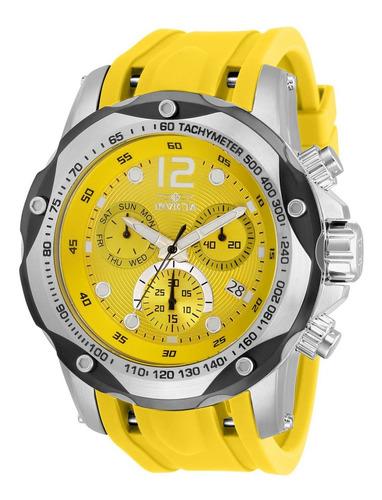 Reloj Invicta 33962 Amarillo Hombres