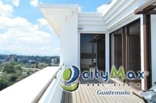 Pent House En Venta Zona 15 Guatemala - Pva-011-02-12