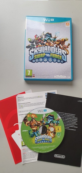 Skylanders Swap Force | Wii U | Europeu V. Pal