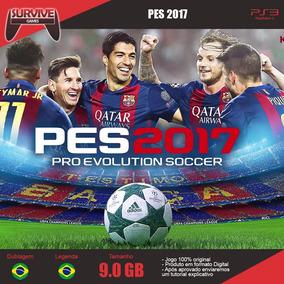 Pes 2017 Português Ps3 - Codigo Psn - Envio Imediato