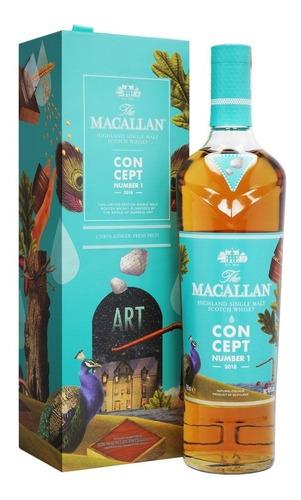 Imagen 1 de 6 de Whisky The Macallan Concept Nro 1 Single Malt 700ml Estuche