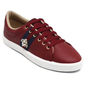 Tênis Looshoes Gold Bee Bordo 304/5a 46