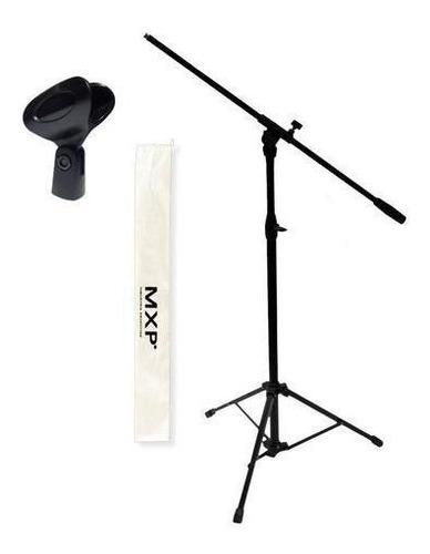 Combo Soporte Jirafa Microfono Con Pipeta - Oddity