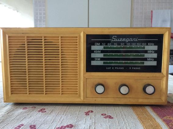 Radio Antigo Suzegani 3 Faixas