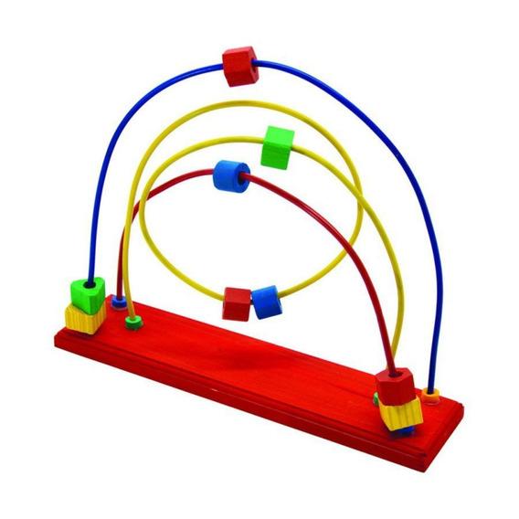 Aramado Entrelaçado - Brinquedo Pedagógico De Madeira