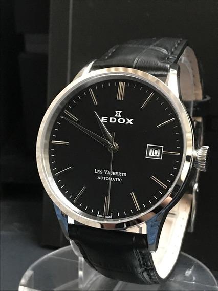 Nivel Omega Automático Edox Sem Uso Na Caixa - Único No M L