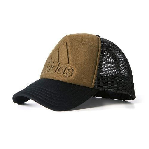Gorra adidas Hombre Verde Negro Trucker Logo Bq7355