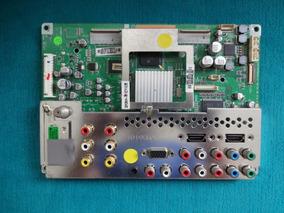 Placa Principal Tv Lg 32pc5rv Eax49008602(2) - Defeito Som