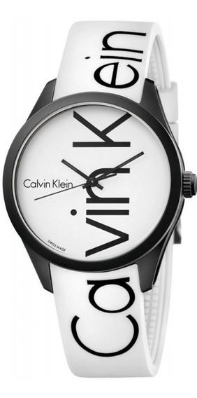 Reloj Original Dama Marca Calvin Klein Modelo K5e51tk2