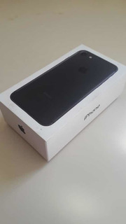 iPhone 7 Black! 32gb. Icloud Limpo / 1 Ano De Uso!