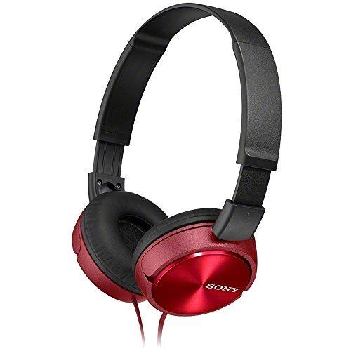 Audifonos Sony Plegables Mdr-zx310 R - Rojo Metálico