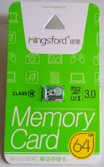 Micro Sd 64gb Classe 10 Prova D