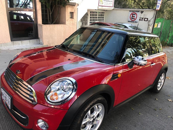 Mini Cooper 1.6 Chili Aa Tela/piel Qc At 2013