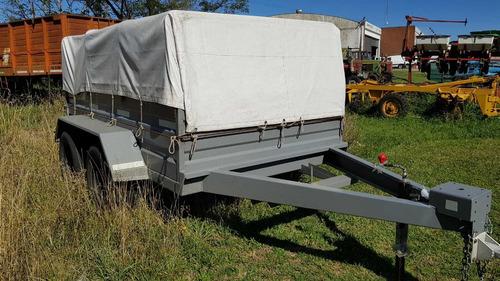 Carro Trailer Batan Mudancero P/ 4 Ton Mod T F4000 Patentabl